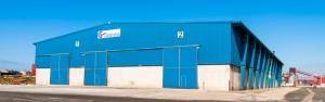 11 Naves con capacidad total de 18.000 m2