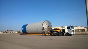 4 Depósitos 18 x 6 x 6 - 40 tons.